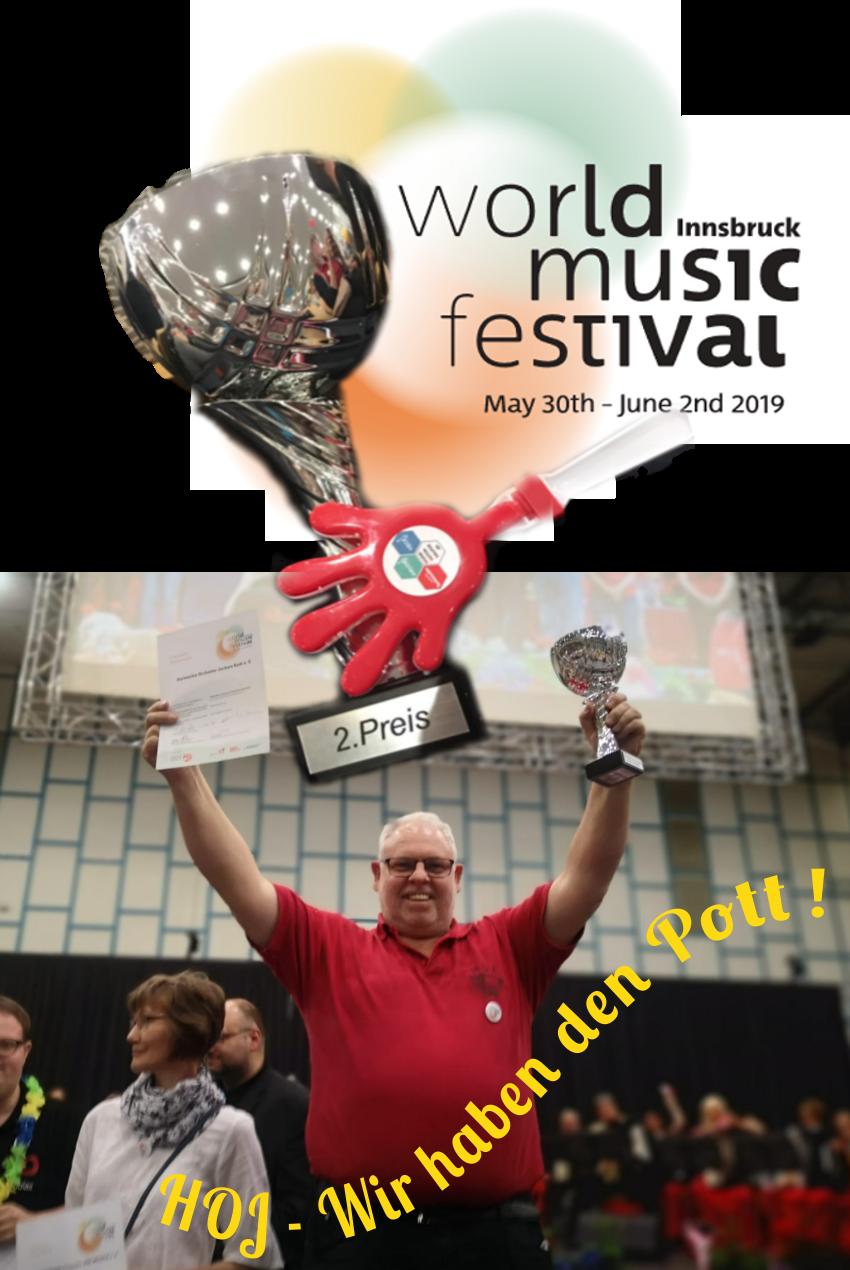 Das HOJ beim World Music Festival Innsbruck 2019